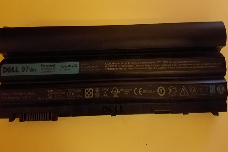 Dell Lithium Ion Laptop Battery