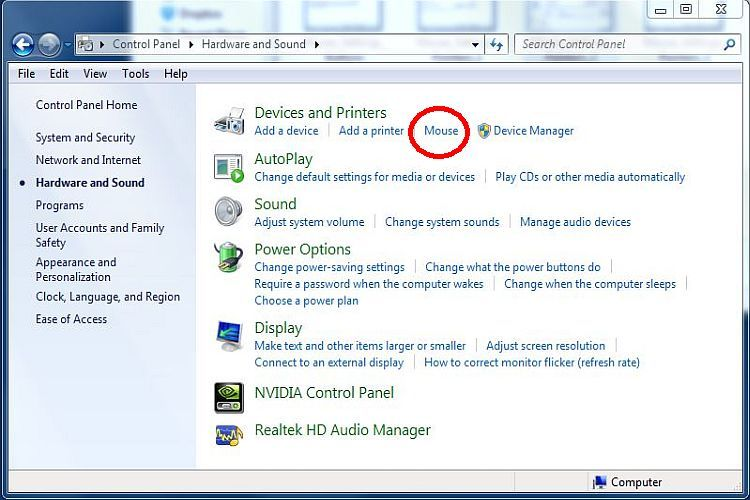 How To Use All Those Cool Mouse Settings In Windows 7